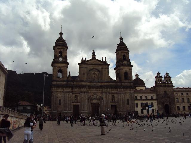 Praça Bolívar Bogotá