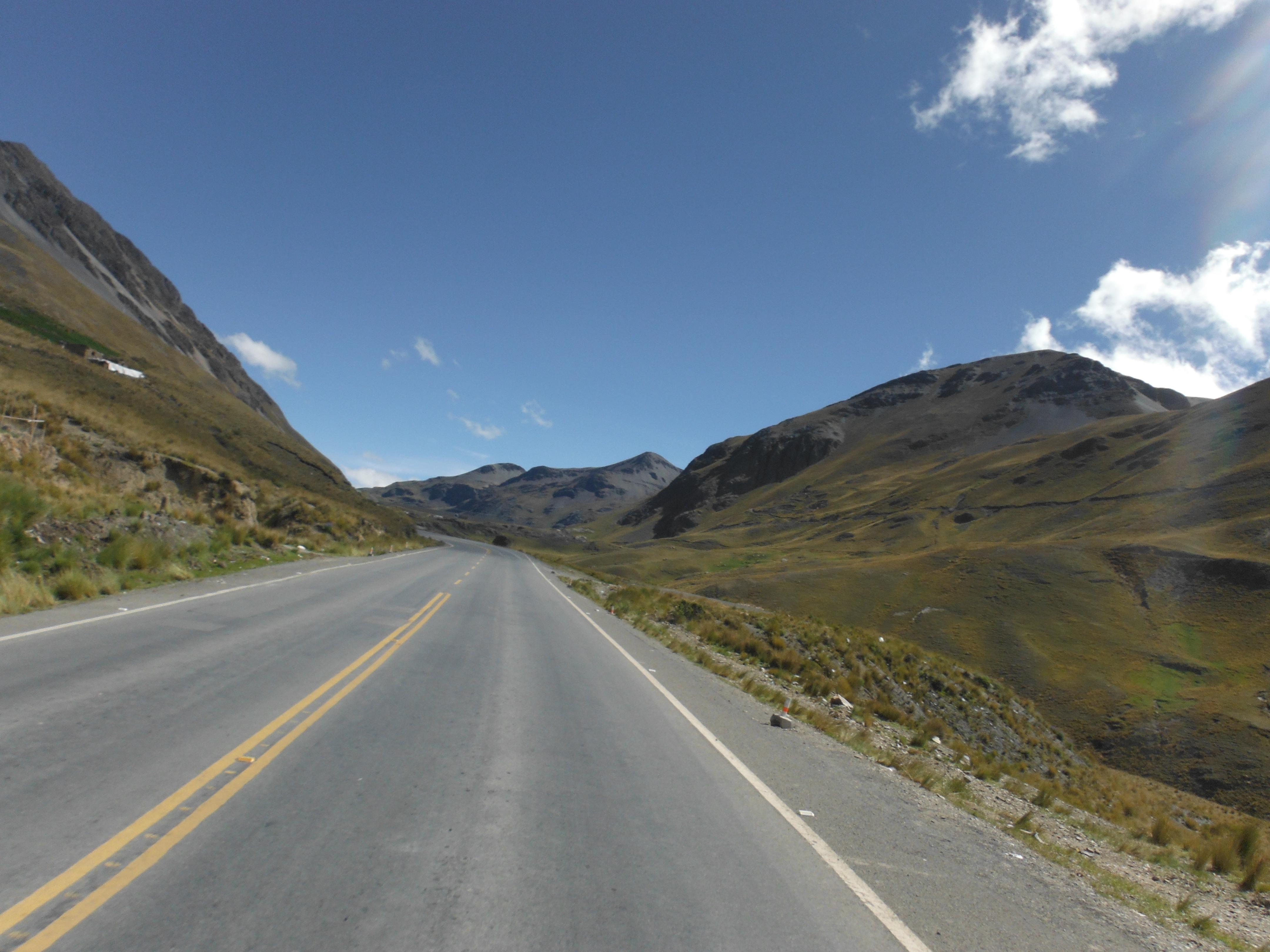 Death Road asfalto