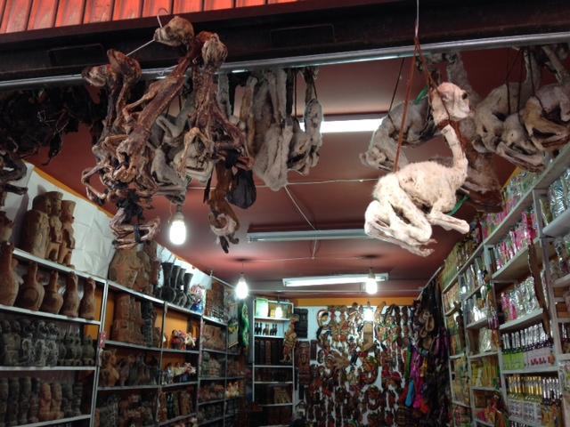 Mercado de las Brujas