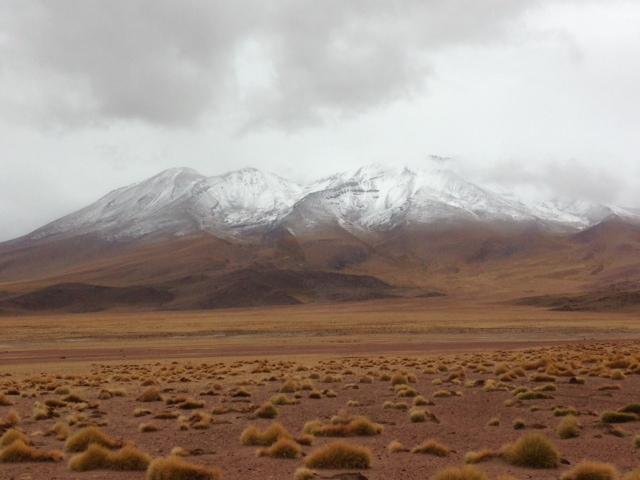 Montanhas Deserto Bolívia