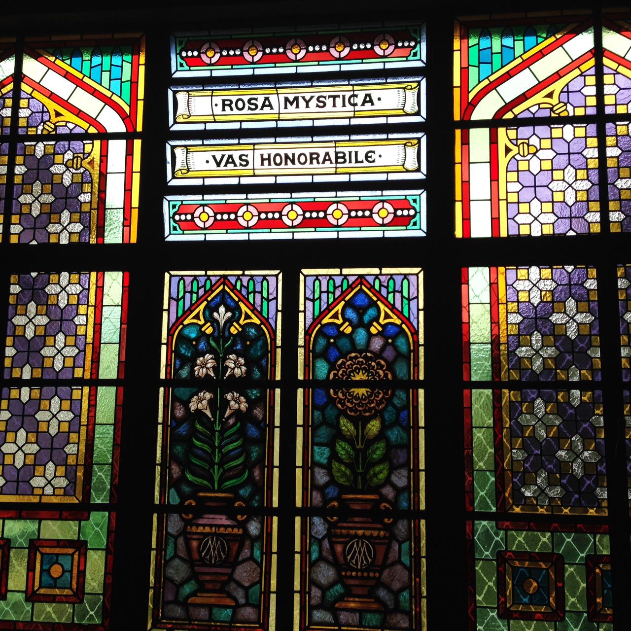 Vitral Mosteiro São Bento