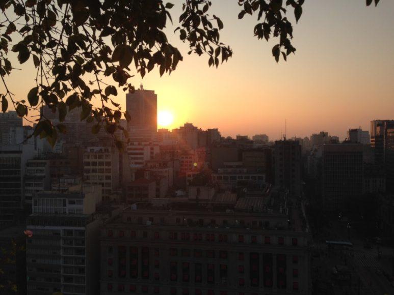 Por do Sol Sao Paulo