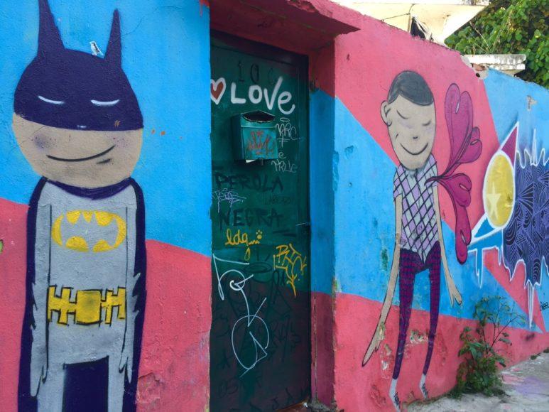 Grafite Beco do Batman